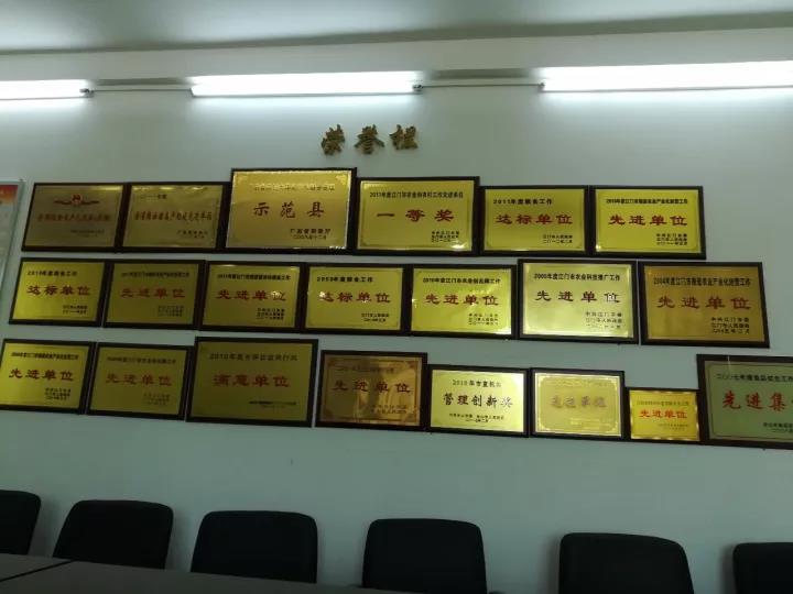 管理部门荣誉墙